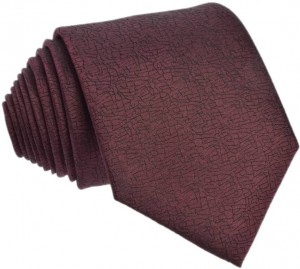 Brown melange Tie 100% Silk