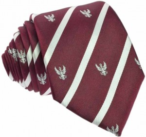 Regimental Tie 100% Silk (White Eagle)