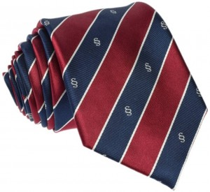 Paragraph Regimental Tie 100% Silk