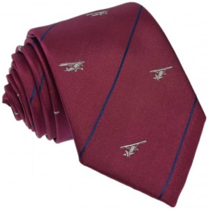 Regimental Tie 100% Silk (Airplane)