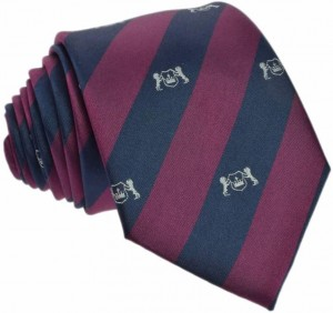 Regimental Tie 100% Silk (arms)